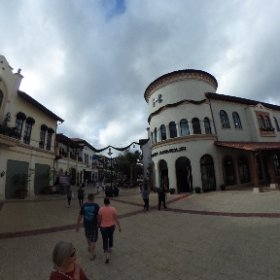 "The more ""outlet-mallish"" section of #disneysprings #theta360"