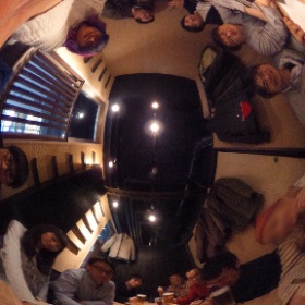 アプリ道場 忘年会 2次会の写真! #iPhoneアプリ開発講座  #theta360