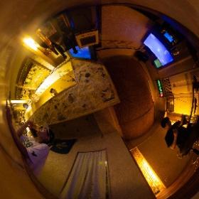 京都市右京区にある隠れ家のようなショットバー「EMA」のウェブサイト撮影で。 #theta360