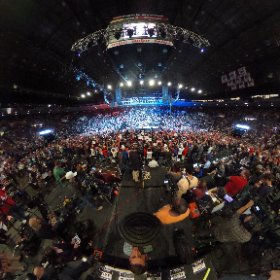 Here's a 360 picture of Donald Trump's rally last night in Cincinnati, OH ==>