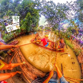 360 spherical image Oct 2018 Farm trip Pathum Tanni, Canoe ride, activities media hub https://goo.gl/4jEc2c BEST HASHTAGS #CanoeOnTheFarm  #FarmTourPhatumTanni   #TravelMeetLocalsBkkAdventureOctober018  #Butterfly3d #theta360