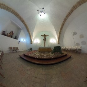 La cripta de San Juan Bautista (Iglesia Mayor) en #Chiclana http://www.dechiclana.com/item/iglesia-de-san-juan-bautista/ #theta360