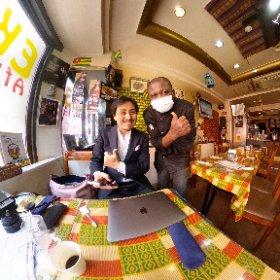 #赤坂 #エコロロニョン 店主と #RICOH #thetaZ1 シータ #theta360