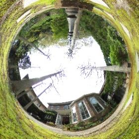 北鎌倉 葉祥明美術館。 若いときにファンだったので作品を見ると懐かしい気持ちに・・・・(*^▽^*) #theta360