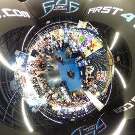 Le stand de First 4 Figures à la #Gamescom2019 en 360° #theta360 #theta360fr