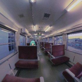 #miku360 貸し切り列車!? #theta360