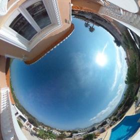 Villa Llimera Aussenansicht Sonnenterasse