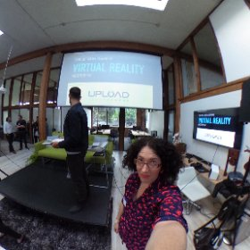 UploadVR meet-up #3, in case you missed it! #theta360
