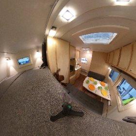 Das ist die Nordstar Camp 9 S SE Wohnkabine passt auf Pritschenwagen wie VW T4, T5 oder T6 als Doppelkabine bzw. Doka. Alle Infos findet Ihr auf www.nordstar.de #theta360 #theta360de