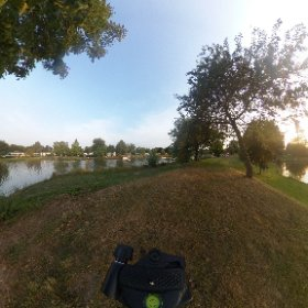 Waterplas. Camping de Vergarde #theta360
