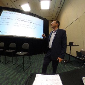 "Dennis Shelden of Georgia Tech Digital Building Lab explains the ""plumbing"" of data for #BIM and more for @AECGameChangers #theta360"