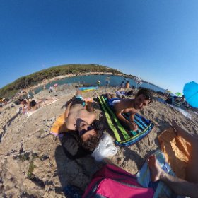 Porto Selvaggio - Salento with friends in 360 #theta360 #theta360it
