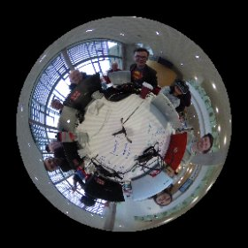 Team Calmo rocking it @nhshackday #nhshd #VR  #theta360