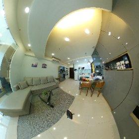 Light Service Apartment in Kaohsiung  輕酒店式公寓-權威物業arei.tw 巨蛋驛R14範例 #theta360