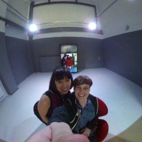 #the Mirror #MakikoIzu #HitoshiTaguchi #wroartcenter #360 #immersive #wrobiennale #wro17 #theta360