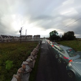 Houses! Hurry up to Galway, Letteragh road might not be enough | #Development2019 #galway2019 #Galway2020 #rain3d #thisisgalway #thecraicingalway #theta360 #theta360uk