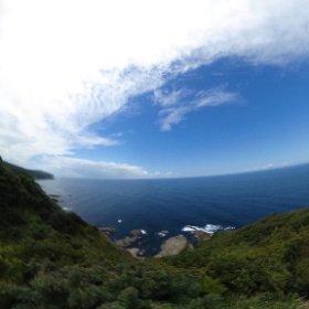 ゾウゾウ鼻(石川県輪島市) VRでバイク旅 日本一周【52日目】http://www.merkurlicht.com #theta360