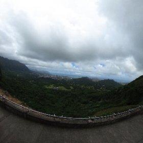 Nuʻuanu Pali Lookout via Theta.
