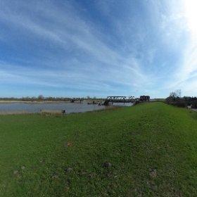 Friedensbrücke in Weener #theta360 #theta360de