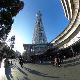20190113 東京スカイツリー #theta360