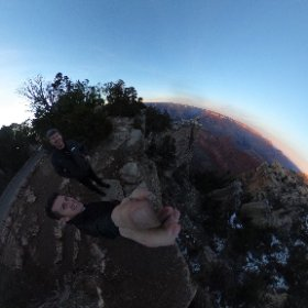 360 view of Mather Point at the South Rim of the Grand Canyon