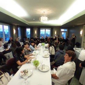 世界新城アライアンス会議@カナダクラリントン夕食