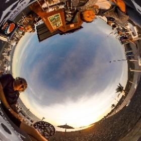 Beach Bar Tarajalejo (Fuerteventura) - Karin Schiel Fotografie - #Fotograf #Stuttgart #360° #Rundumbild  #theta360 #theta360de