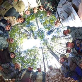 Mňoucké Jizerky - V lese #theta360