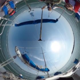 ゴールデンウィークのヨットクルーズ。今年は宇久須港に2泊でした。  #theta360