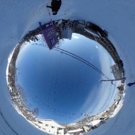 小樽朝里クラッセホテル入口周辺 #まるちゃん写真集  #まるちゃん北海道旅行 #theta360