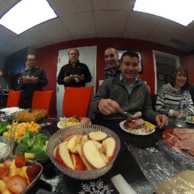 We are having a wonderful Christmas potluck at Company 119 today! Merry Christmas Eve Eve.