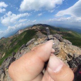 安達太良山。 久しぶりでしたが。 やっぱり好きだなぁ #theta360