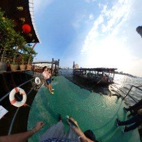 Sawasdee Pier on Chao Phraya river in Talad Noi Bangkok https://goo.gl/kLsvkN BEST HASHTAGS #PierSawasdeeBkk   #BkkRiverPier  #BkkFamilyFun     #BkkAchiever   #BpacApproved   #BkkZoneTaladNoi  #butterfly3d