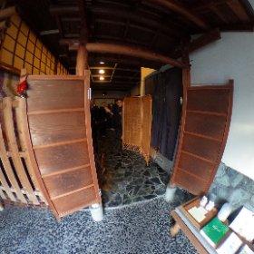 枕崎駅前通りにアロマのお店『aroma room』が出来ました! #theta360 #theta360
