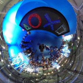 Le mur #Playstation de la #Gamescom2019 ! #theta360 #theta360fr