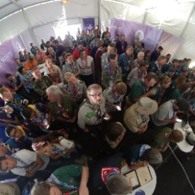 FOSE meeting at the jamboree #theta360