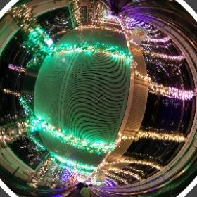 そういえば、THETA Sイベントの際に夜景撮影したの思い出した、これでいいのかなテスト。 #firefly3d #theta360