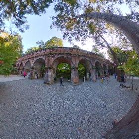 南禅寺の水路閣です。紅葉🍁合成バージョン #momiji3d #theta360