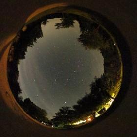 2017年5月20日 美方高原自然の家 キャンプ場夜空