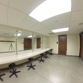 Rancho Campana High School - performing arts center men's dressing room