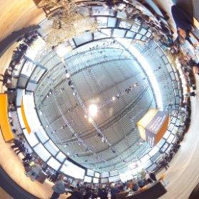 Roma-Messestand auf der R+T im 360 Grad Blick