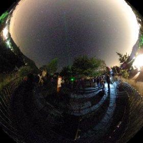 Observación pública en Paseo de la Fuente del Cura @ayunmiraflores @Stars4All @unicomplutense @juliovias #theta360