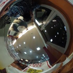 ケンタッキーフライドチキン、2号線芦屋店、柚子尽くしセットなう(^^) #theta360