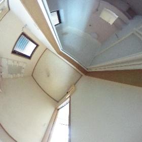 松林アパートD-1 洗面
