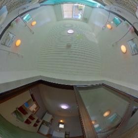 末広旅館1階風呂場男性 #theta360