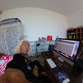 朝も早よからレコーディングシステムを構築ちう〜 今年中に「ファンキーはんと大村はん」、Funky末吉アコースティックJazzユニット「おすし」、「ある愛の唄プロジェクト」と3枚のアルバムを作るのよ〜 冬は北京は極寒なので掘り炬燵で作業出来るように〜