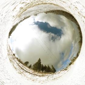 Postvaru Mountain, Brasov, Romania #theta360