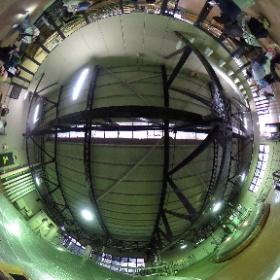 サントリー山崎蒸溜所 仕込/発酵 2017年5月9日 #theta360