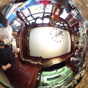 Amazing meal at the best restuarant in #Budapest for lunch. Special treats throughout, exceptional service and perect Italian, #Blessed #theta360