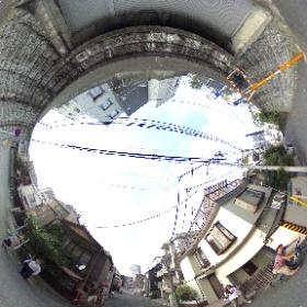 渋谷区中野区新宿区の三区境に立ってシータ! #区境 #theta360